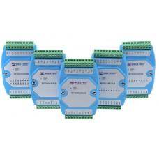 DA-IO-0.0.2 Аналоговый модуль расширения вх/вых 8AI (0-20/4-20мА) RS485 Modbus RTU