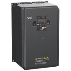 Преобразователь частоты A150 380В 3Ф 11кВт 25А встр. торм ONI