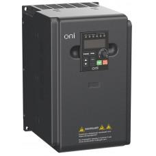 Преобразователь частоты A150 380В 3Ф 5,5кВт 13А встр. торм ONI