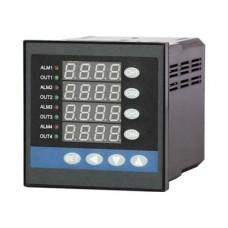KCMA-XJ41A ПИД регулятор 96х96 с 4-мя унифицированными входами 4-20мА | выход 8 реле