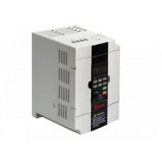 CV1002S0002G ЧП вход 1ф 220В выход 3ф 380В 0,2кВт 0...300Гц 1.3А 5DI 2AI 0-10/4-20 2DO 1AO 0-10/4-20 1RO modbus RTU
