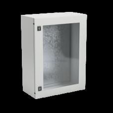 R5STX0442 Корпус ST с прозрачной дверью и с М/П Размер: 400 x 400 x 200 мм (В х Ш х Г) ДКС