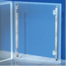 R5S100 Рейки дверные, вертикальные, для шкафов CE В=1000мм, 1 упаковка - 2шт. ДКС