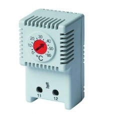 R5THR2 Термостат с регулируемым диапазоном температуры 0…+60°C, NС-контакт ДКС