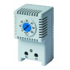 R5THV2 Термостат с регулируемым диапазоном температуры 0…+60°C, NO-контакт ДКС