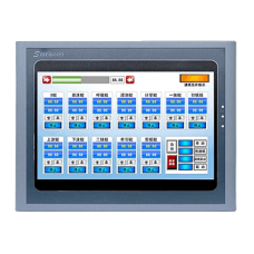 SK-102HE | Панель оператора HMI Samkoon 24В 10 дюймов 800х480 цвет. 262К | 2 RS232/RS424/RS485 1USB host 1 USB client 1 SD card | IP65