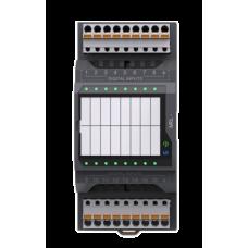 MRL-1000-10-0 Segnetics Модуль расширения 24В 8AI(RTD, NTC, 4-20мА/0-10В) 4RO (5А) 2 MTBus