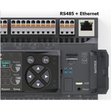 NA-017 Segnetics Коммуникационный модуль RS485 и Ethernet для контроллеров Matrix