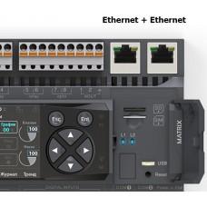 NA-018 Segnetics Коммуникационный модуль 2Ethernet для контроллеров Matrix