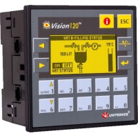 "V12022R2COEM ПЛК Vision... 2,4"", вх./вых: 10DI, 2AI, 6RO"
